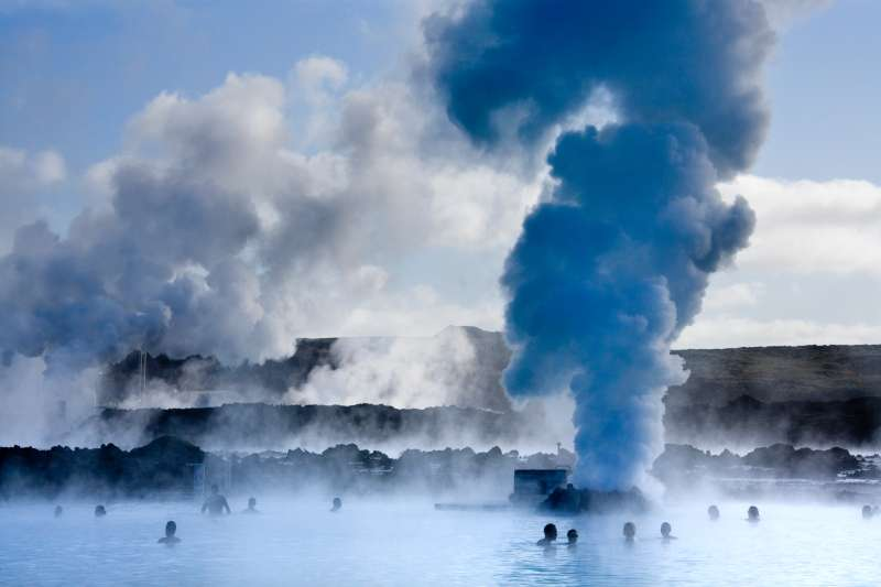 Flights from Newark airport to Iceland, home of the Blue Lagoon geo-thermal pools, start at just $99 on WOW Air this fall.