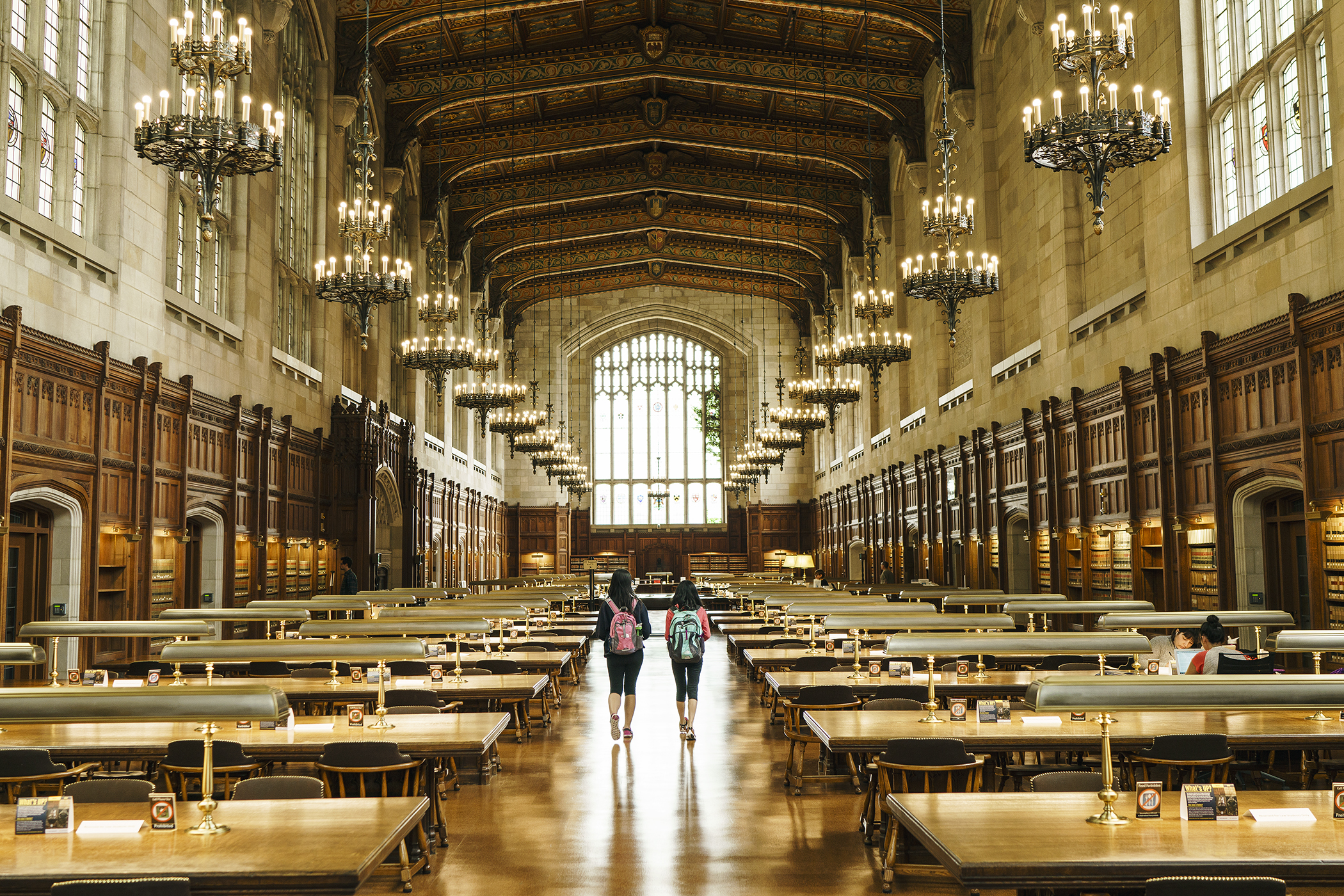 The University of Michigan combines big-school amenities with small-school attention.