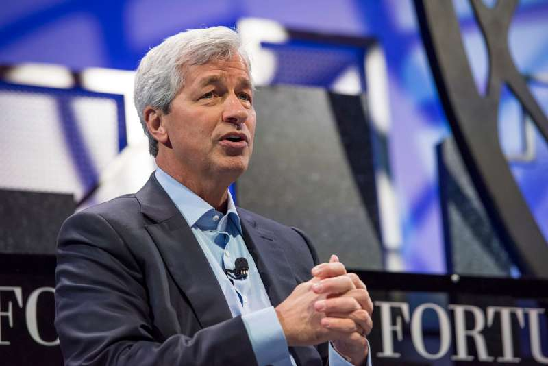 Jamie Dimon, chief executive officer of JPMorgan Chase & Co., speaks during the 2015 Fortune Global Forum in San Francisco, California, U.S., on Wednesday, Nov. 4, 2015.