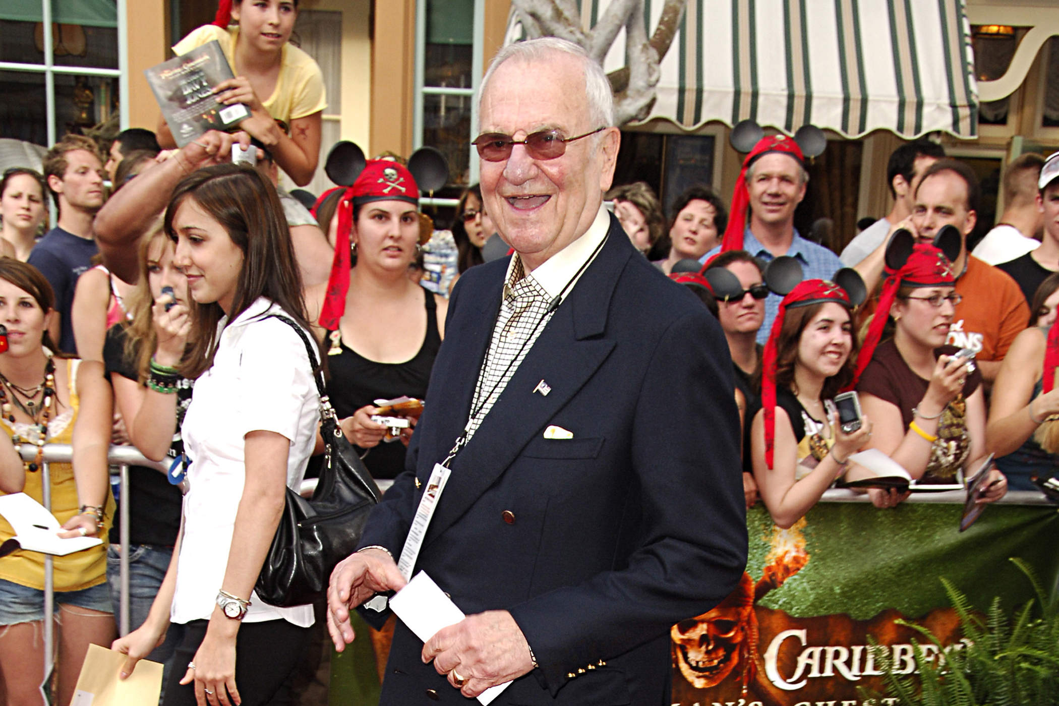 """Lee Iacocca during World Premiere of Walt Disney Pictures'  Pirates of the Caribbean: Dead Man's Chest."""""""