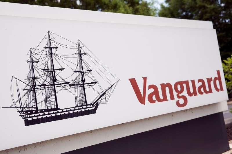 Vanguard's logo outside its suburban Philadelphia headquarters.