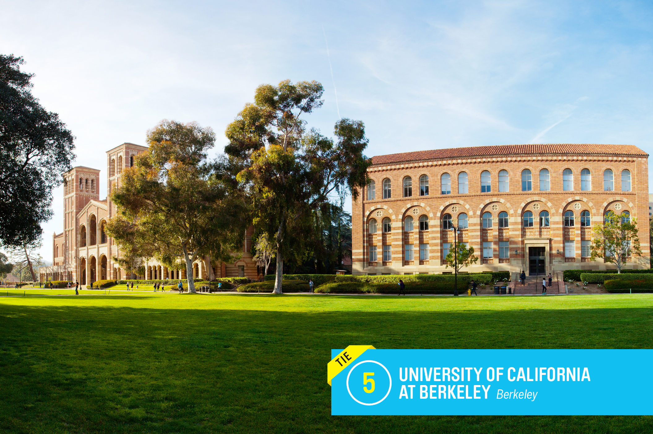 "<a href=""https://money.com/best-colleges/profile/university-of-california-berkeley/"" target=""_blank"">UC-Berkeley</a>, or Cal for short, ranks the highest of eight University of California system schools that made Money's rankings. In fact, Cal is one of the most selective public colleges in the country. More than 90% of freshmen graduate within six years, a rate well above even other elite public universities.                                       <a href=""https://money.com/best-colleges/profile/university-of-california-berkeley/"" target=""_blank"">FULL PROFILE</a>"