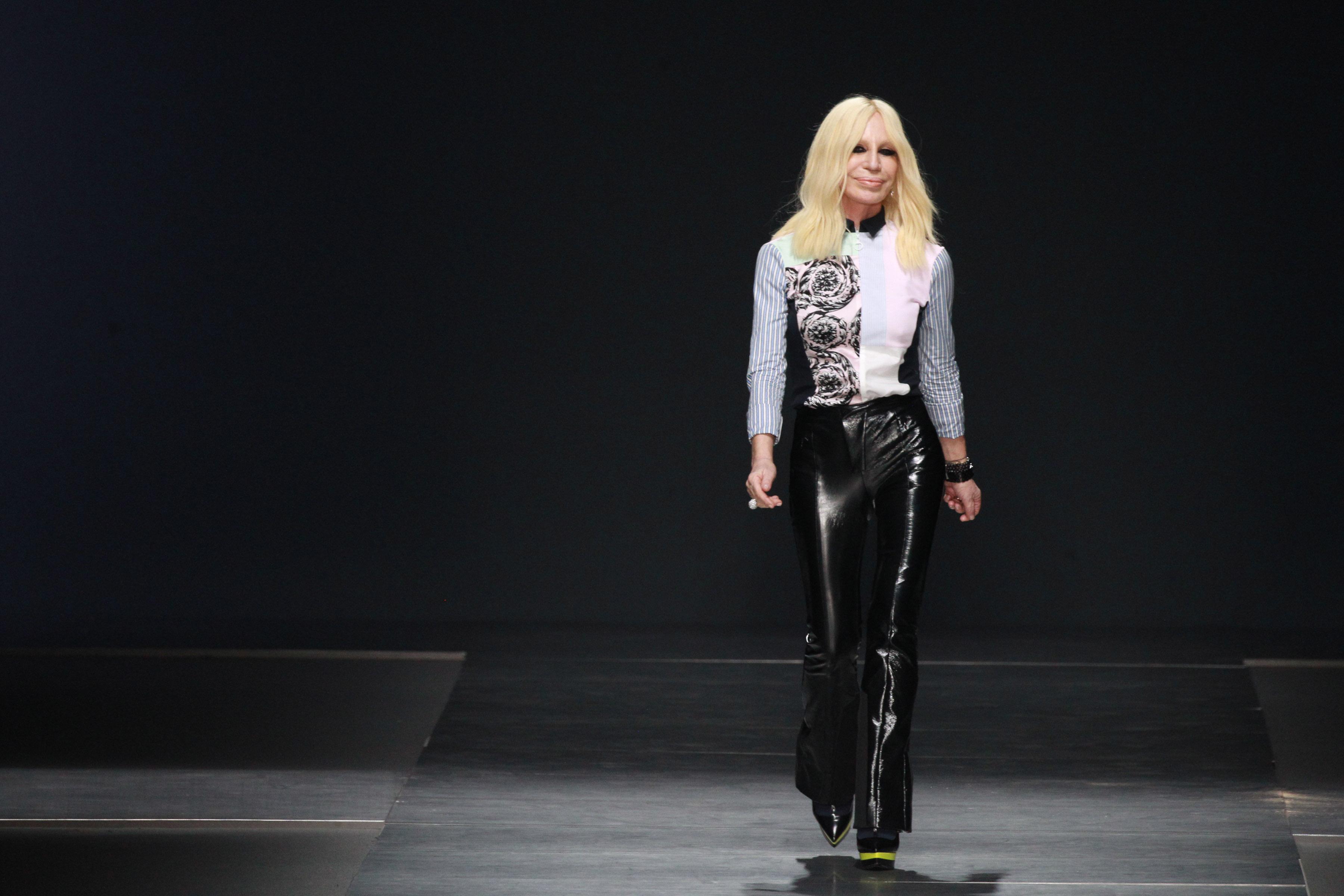 Versace - Runway - Milan Fashion Week FW16