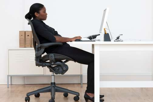 Why You Should Adjust Your Office Chair Right Now