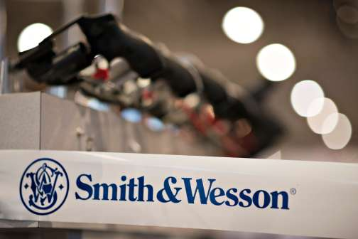 Smith & Wesson Gun Stock Opens Near All-Time High