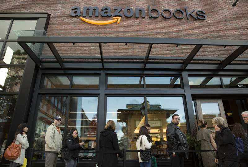 Amazon opened its first physical bookstore in its hometown of Seattle, Wash. in November 2015.