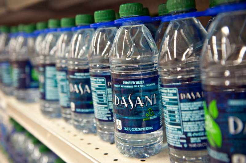Bottled water sales are set to outpace those of soda.