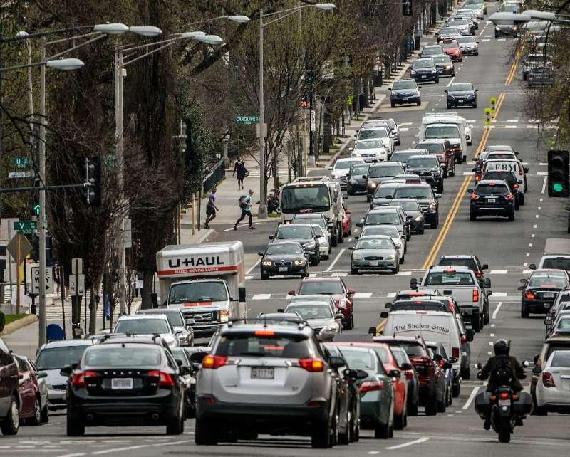 16th street, NW, in Washington DC