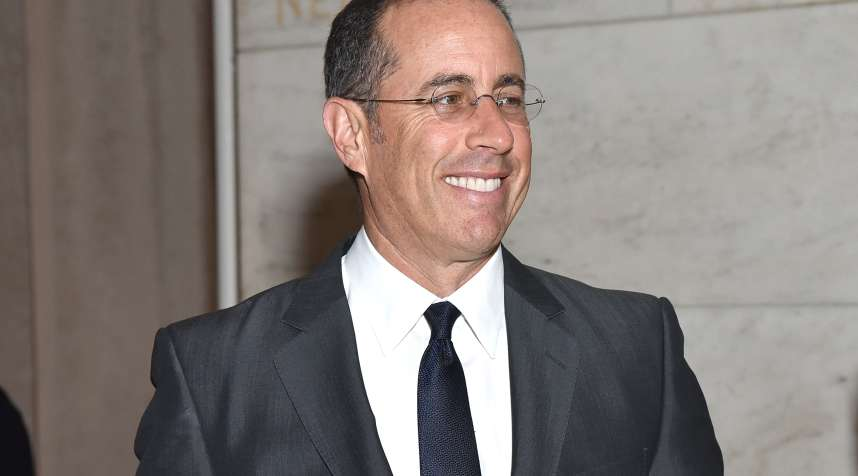 NEW YORK, NY - JUNE 02:  Jerry Seinfeld attends as CHANEL Fine Jewelry Celebrates The New York Public Library Treasures Collection at The New York Public Library on June 2, 2016 in New York City.  (Photo by Jared Siskin/Patrick McMullan via Getty Images)