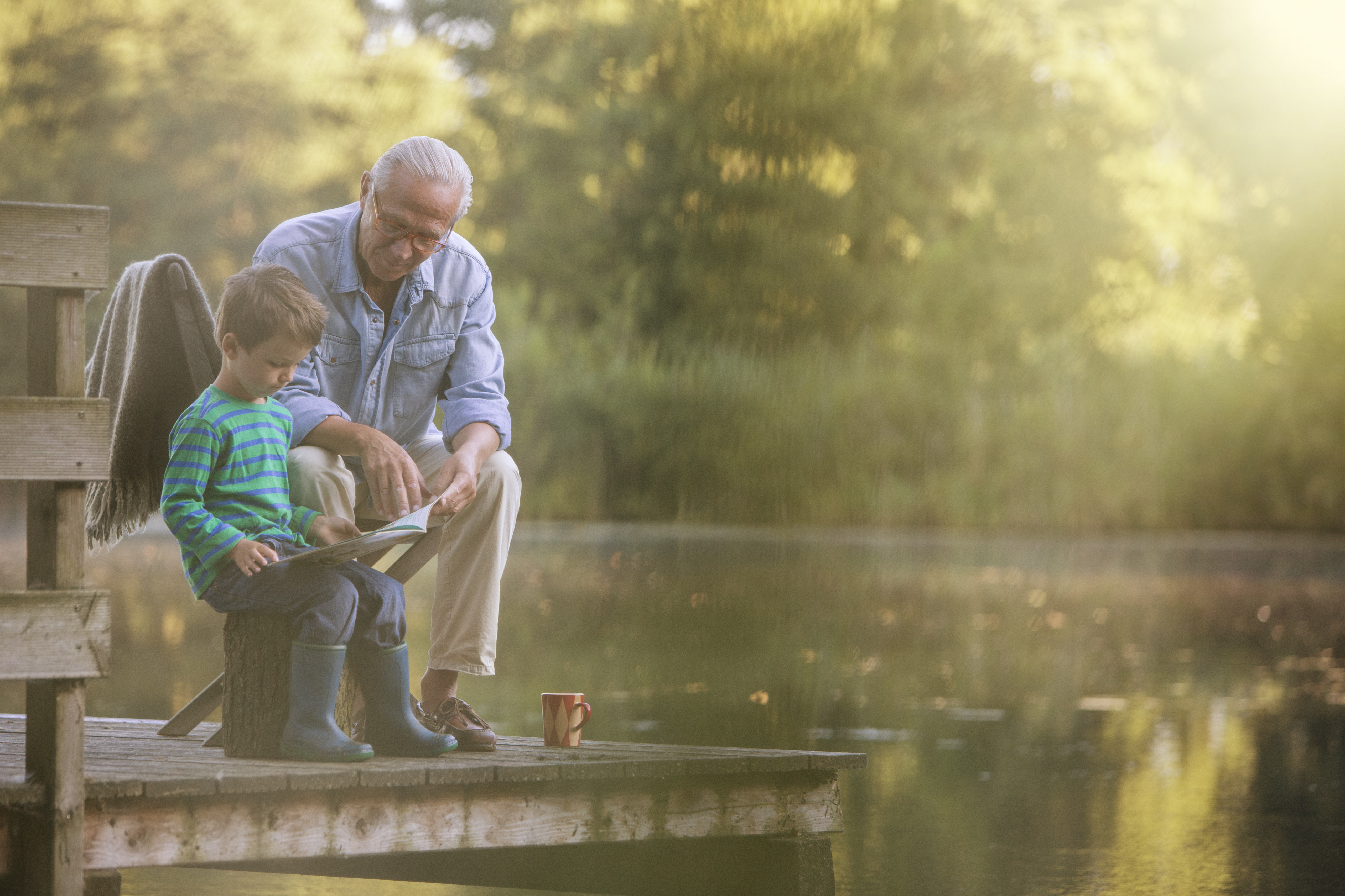4 Ways 'Super Grandparents' Can Stress Less