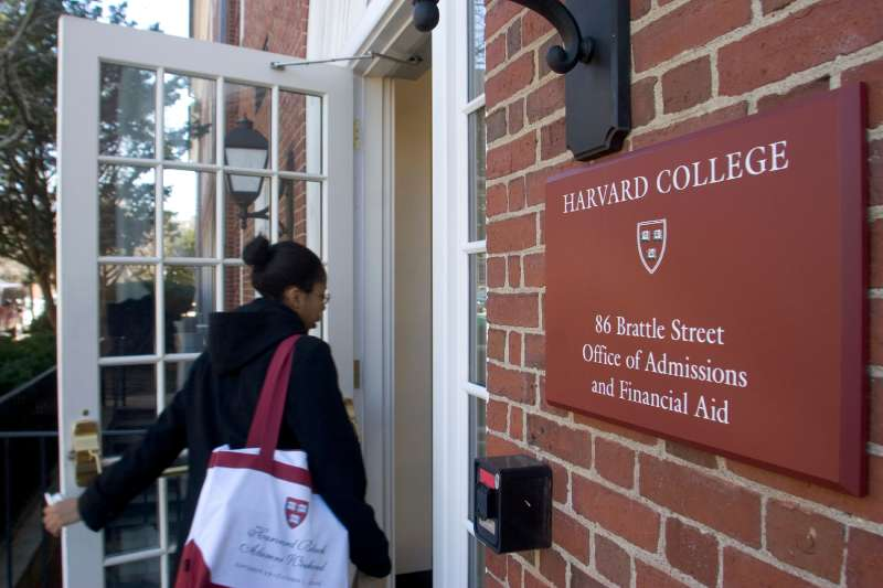 For students who can get in, Harvard is known for generous financial aid.