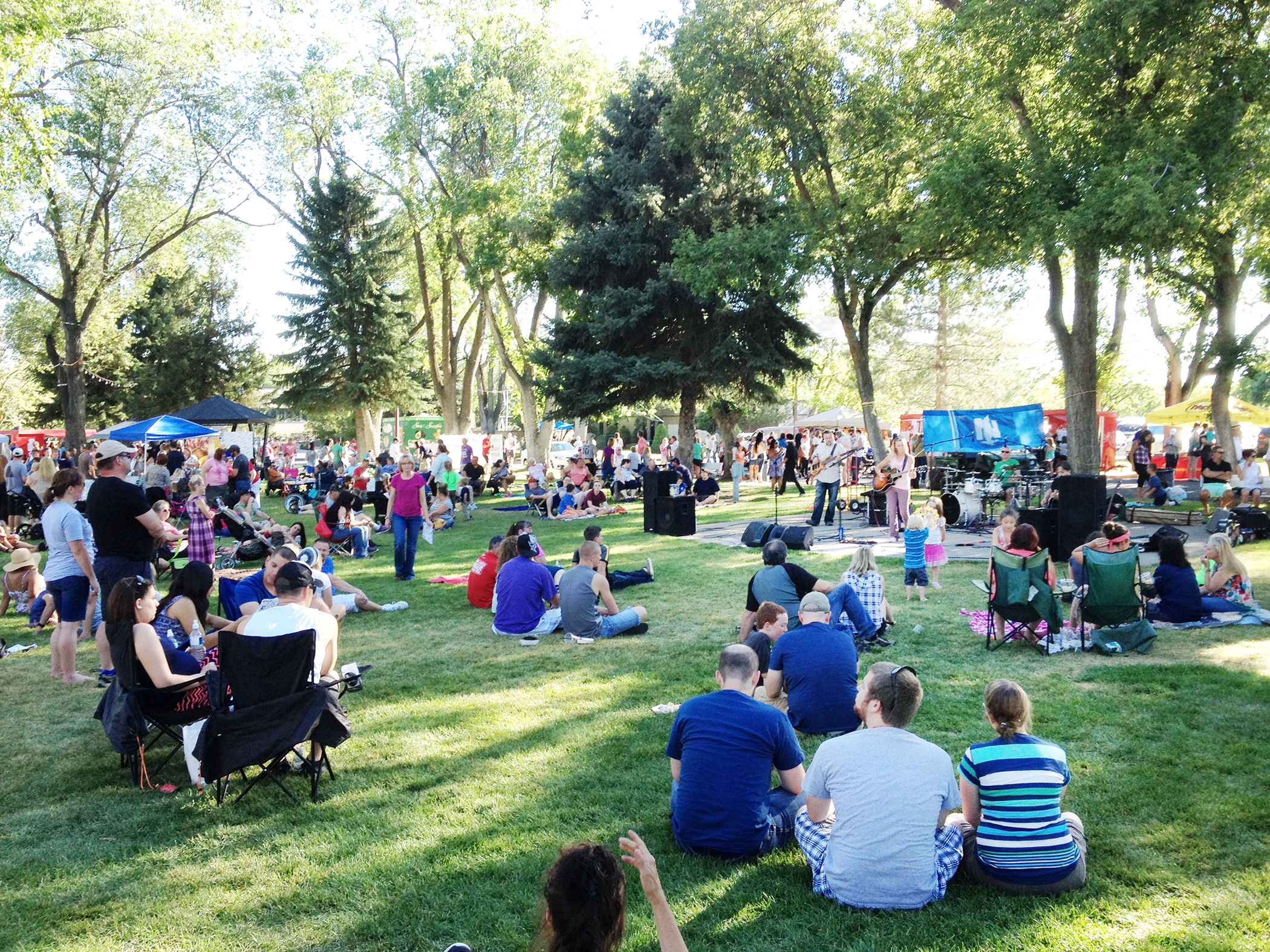 <strong>Layton, Utah.</strong> Among the most popular events in family-friendly Layton is the annual Taste of the Town festival in the Layton Commons Park.