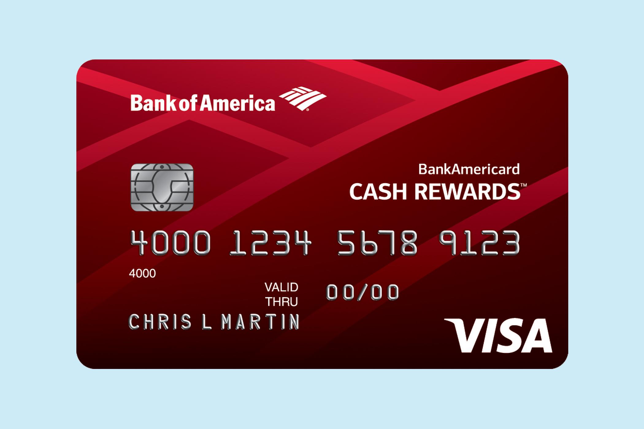 BankAmericard Cash Rewards for Students