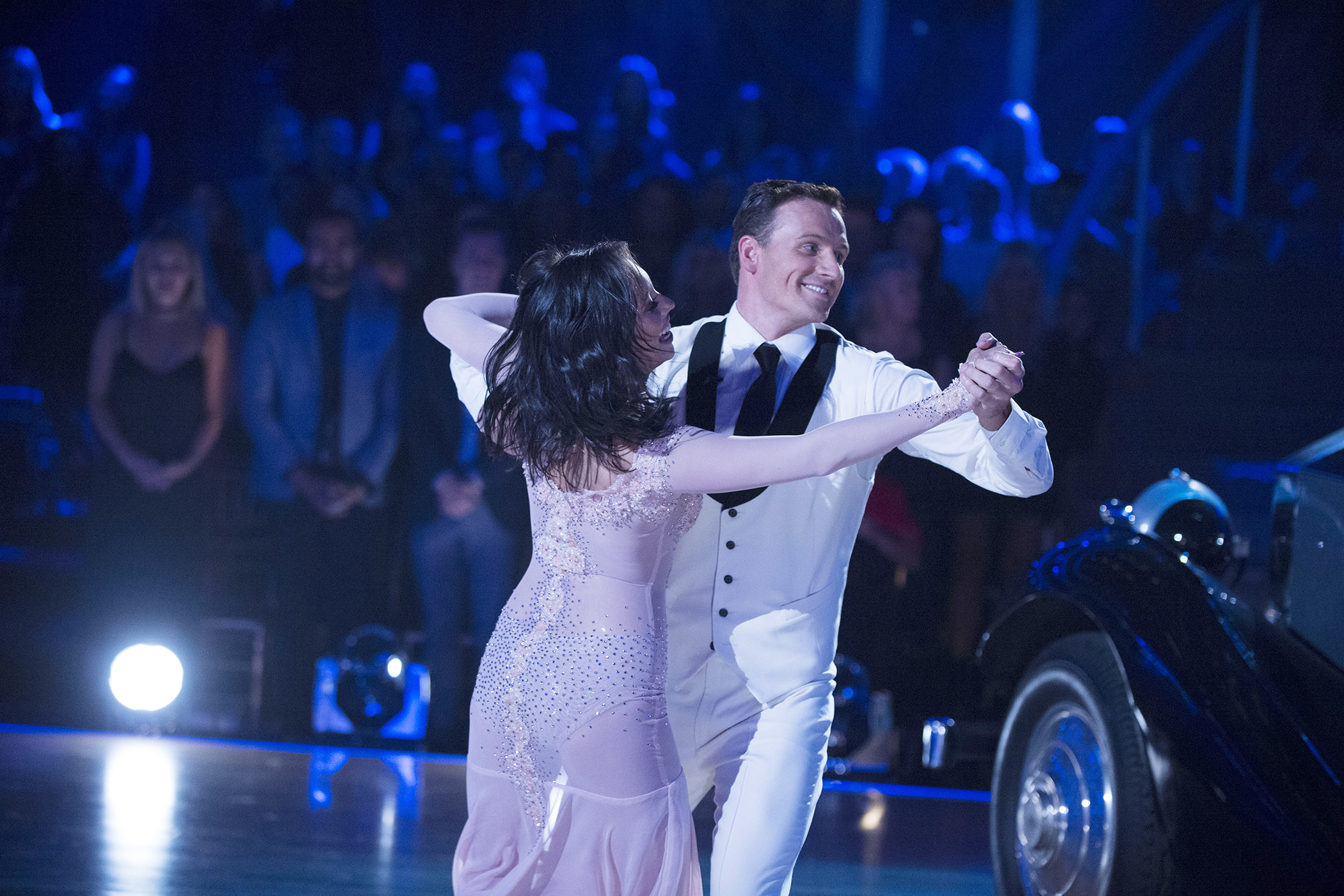Cheryl Burke and Ryan Lochte in  Dancing with the Stars
