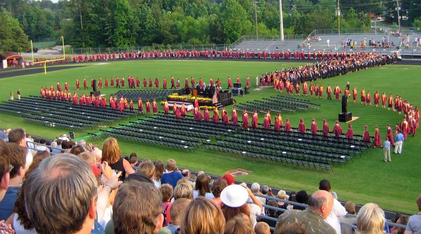 Sorry, proud parents, but graduation is rarely the end of it.
