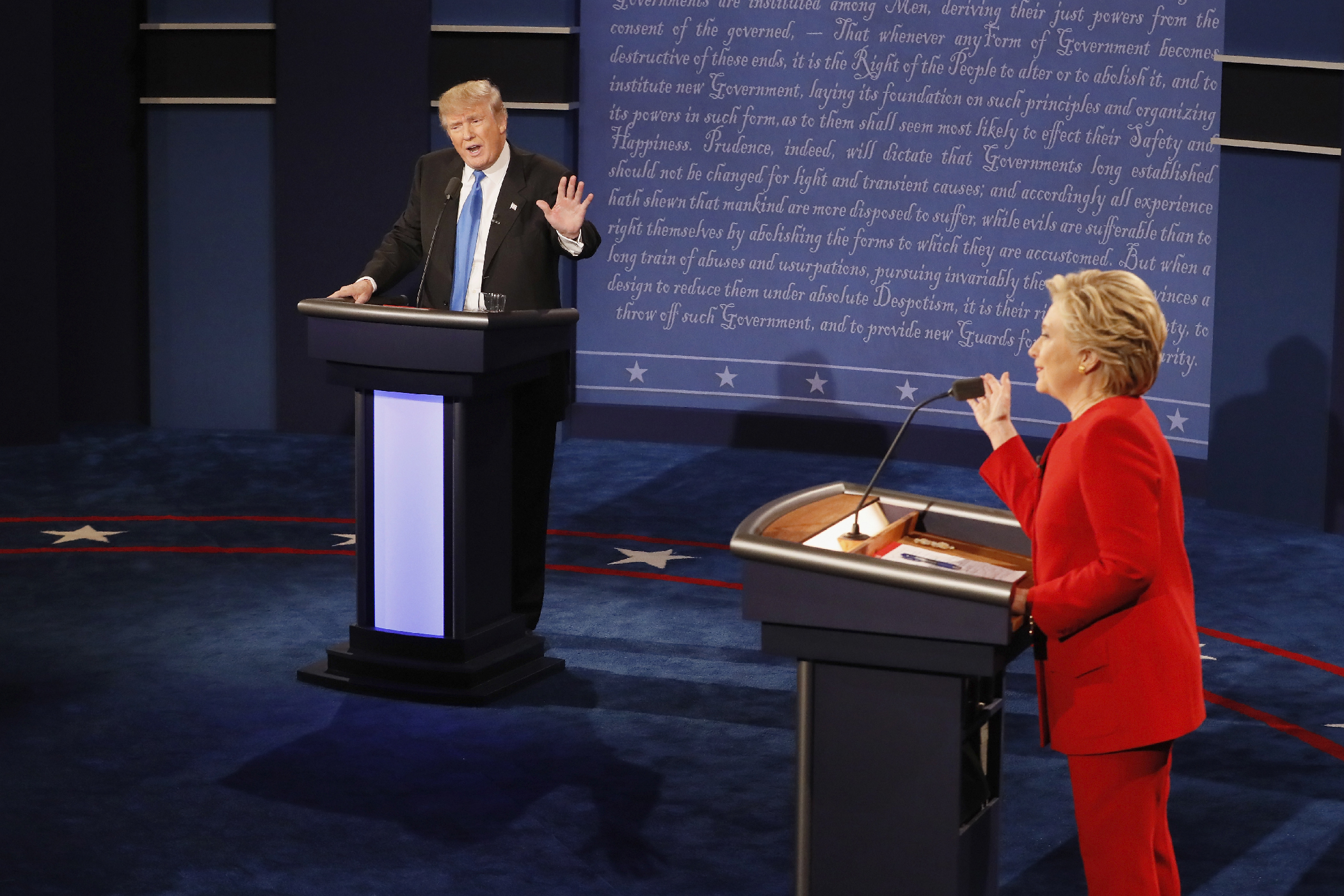 Trump vs. Clinton on Jobs, Trade, and Taxes