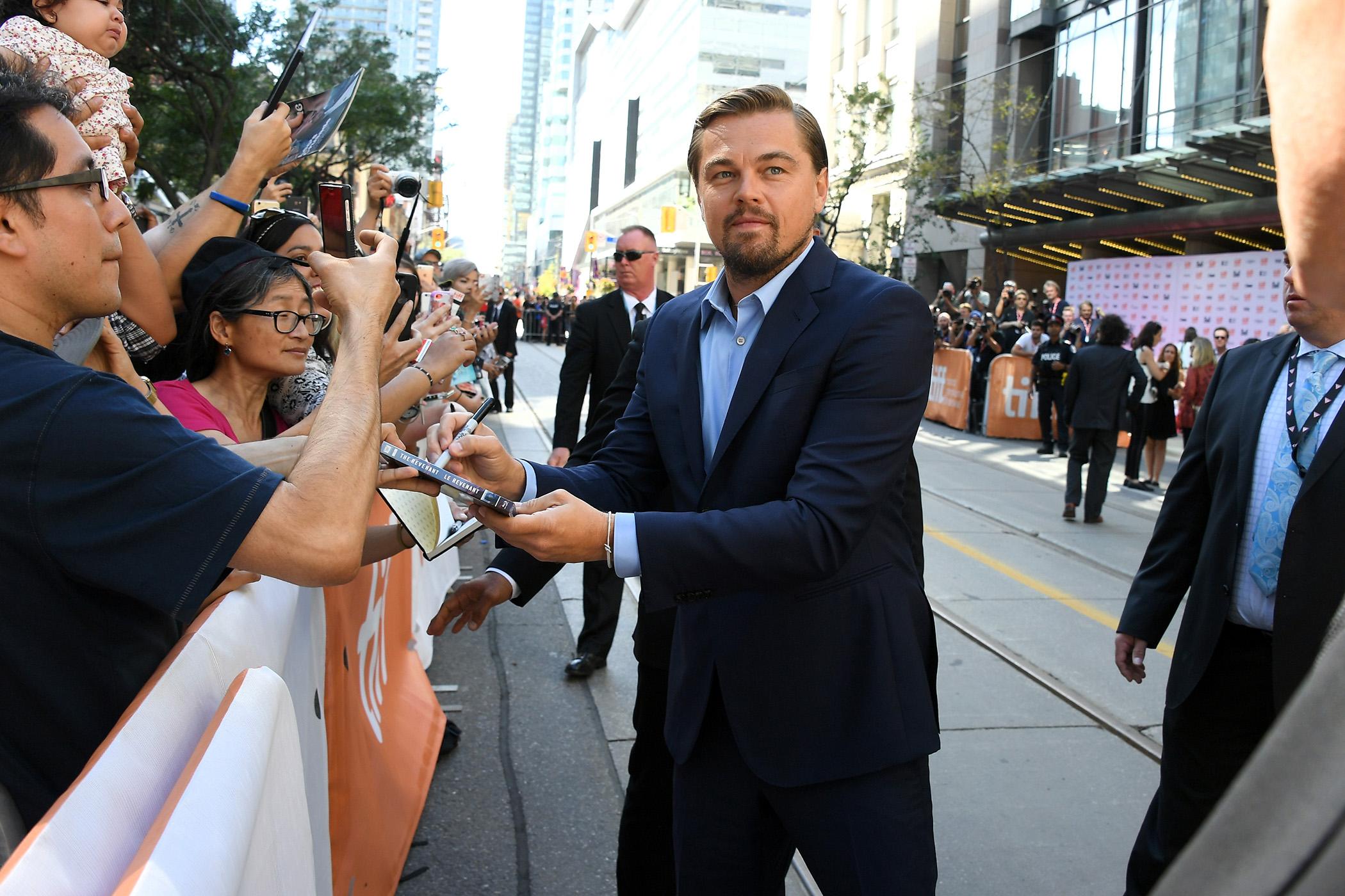 Leonardo DiCaprio, who still bags $25 million per picture, is the exception.