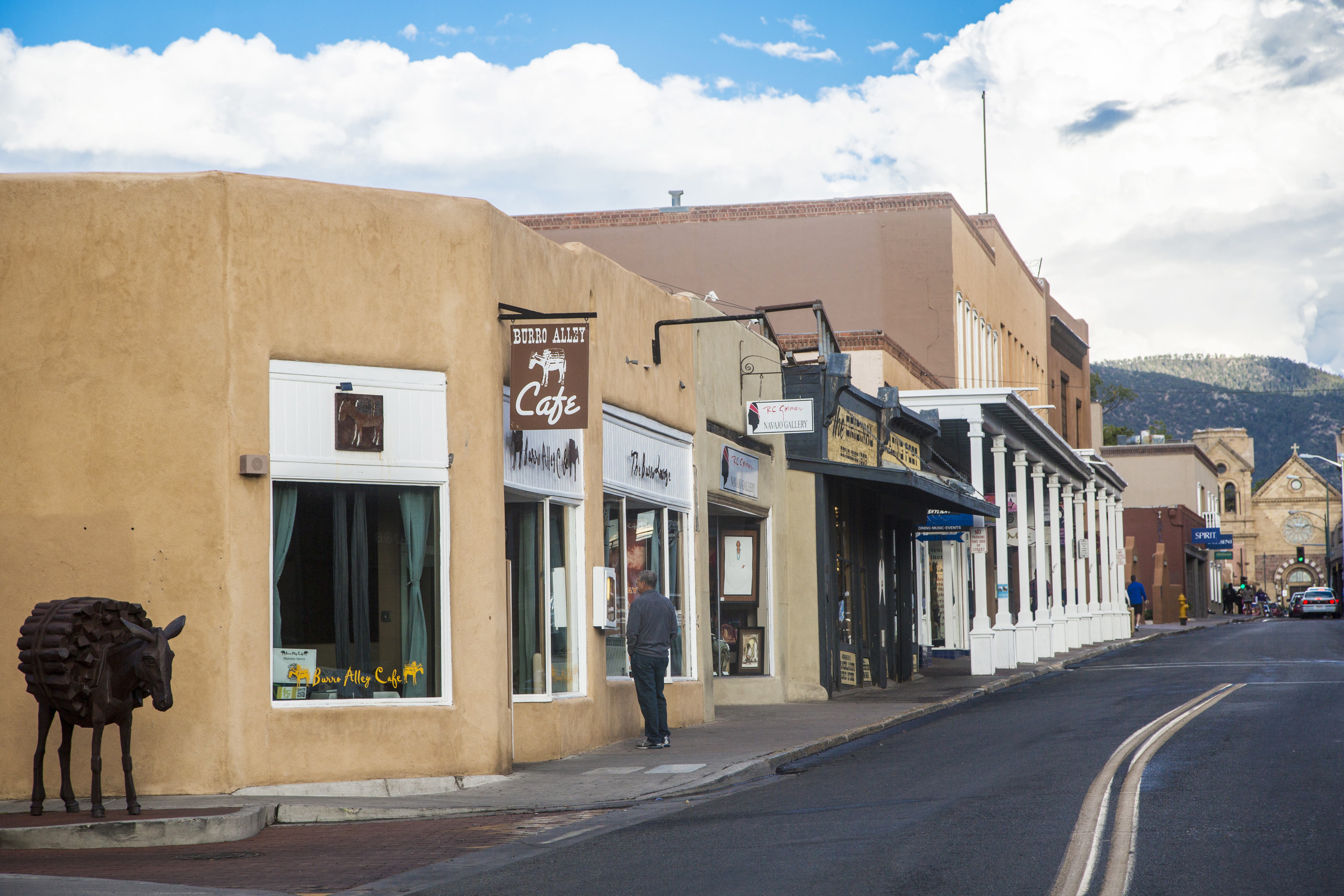 <strong>Sante Fe, New Mexico.</strong> Living in Santa Fe, which was built by Spanish colonists in 1610, is a bit like living in a museum, thanks to the pueblo-style architecture and Museum Hill, home to the city's substantial  art collections.