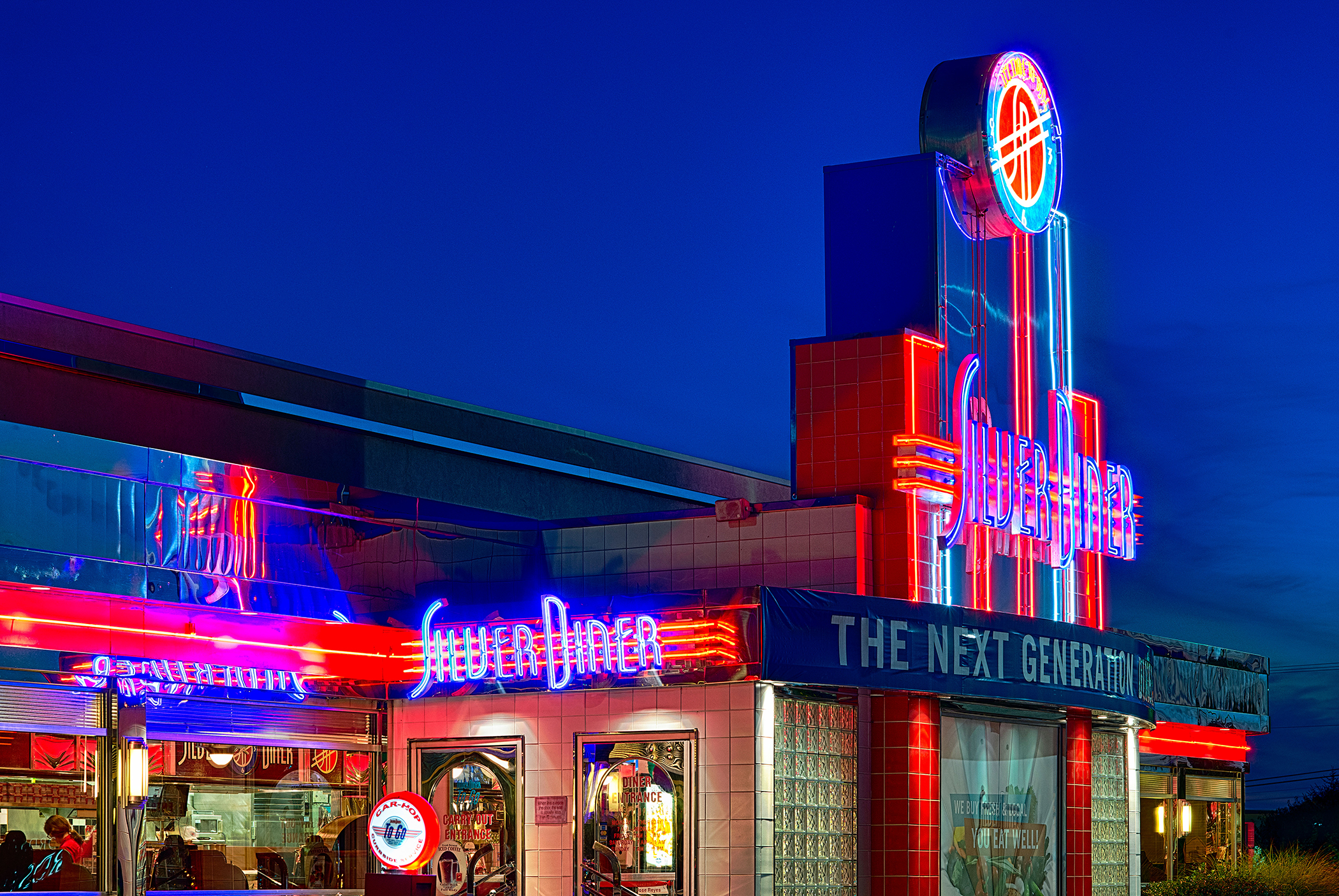 DC1215 Silver Diner restaurant, chain, Cherry Hill, New Jersey, USA