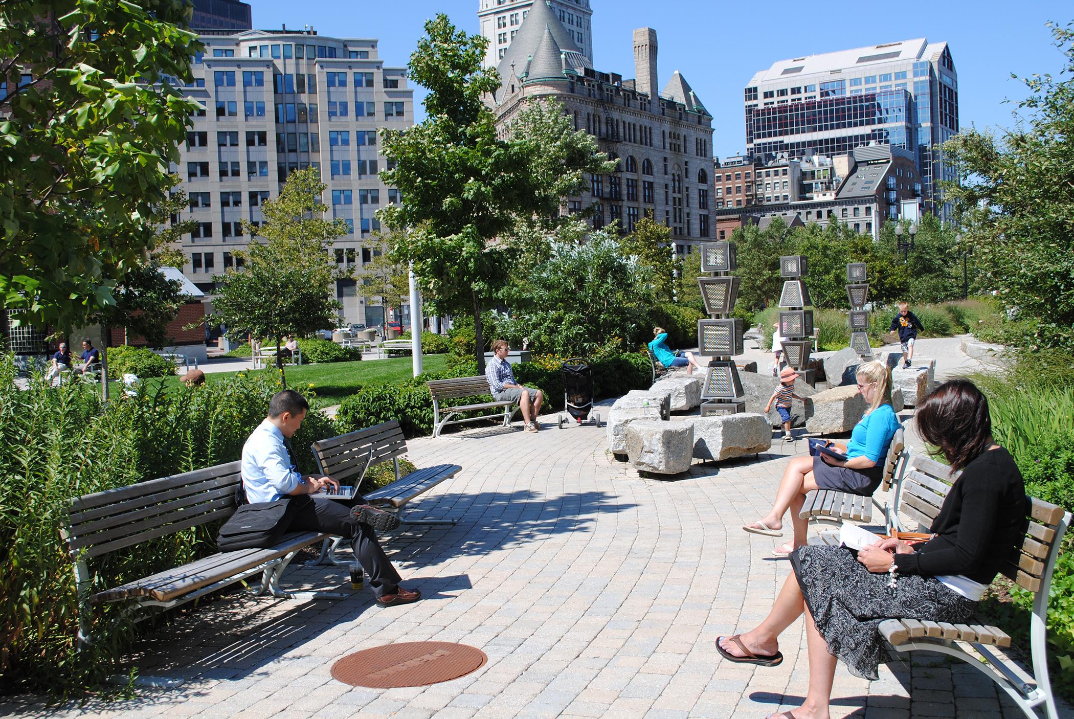 Boston's Greenway