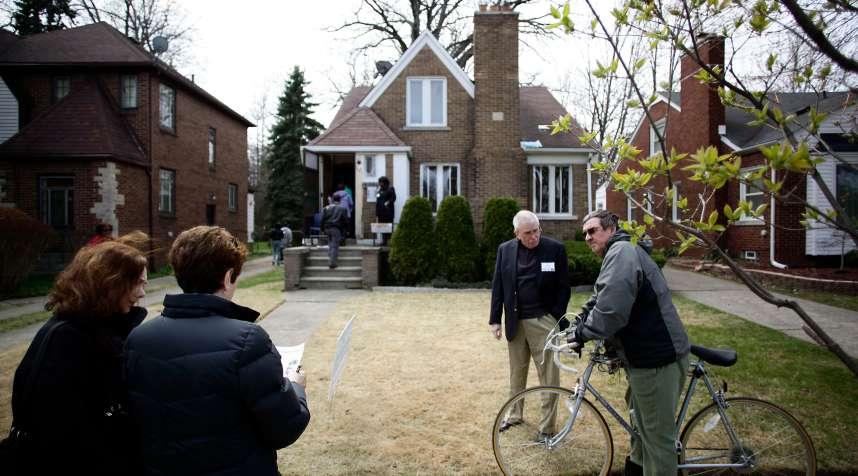 East English Village neighborhood in Detroit, Michigan
