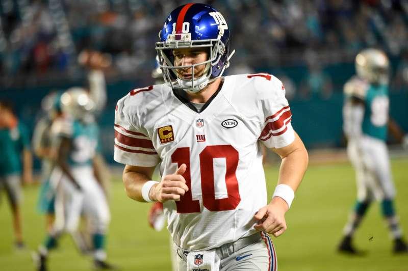 Eli Manning of the New York Giants