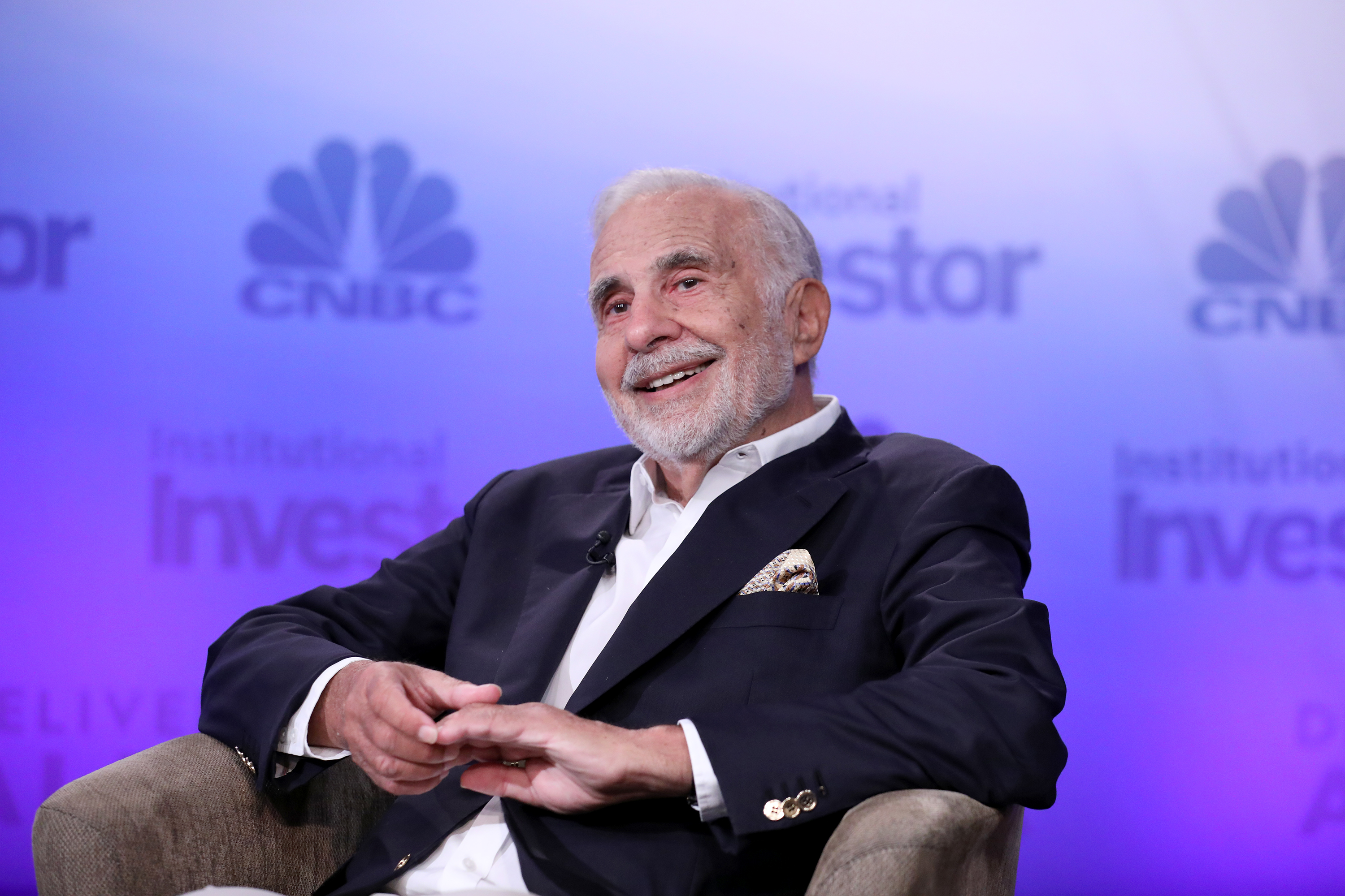 Carl Icahn, Icahn Enterprises Chairman during his keynote at the 6th annual CNBC Institutional Investor Delivering Alpha Conference on Tuesday, September 13, 2016 at the Pierre Hotel in New York.