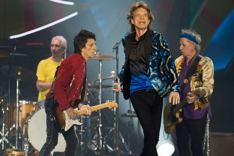 The Rolling Stones, scheduled to play at the Desert Trip Festival.