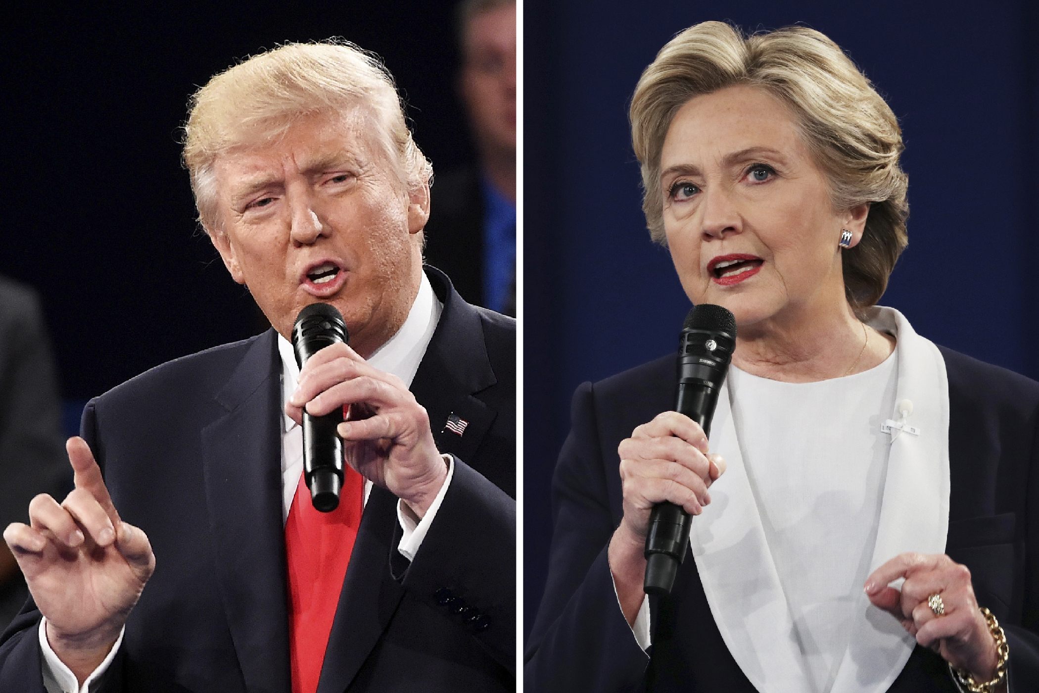 WATCH: Clinton & Trump Talk Health Care and Taxes at the 2nd Presidential Debate
