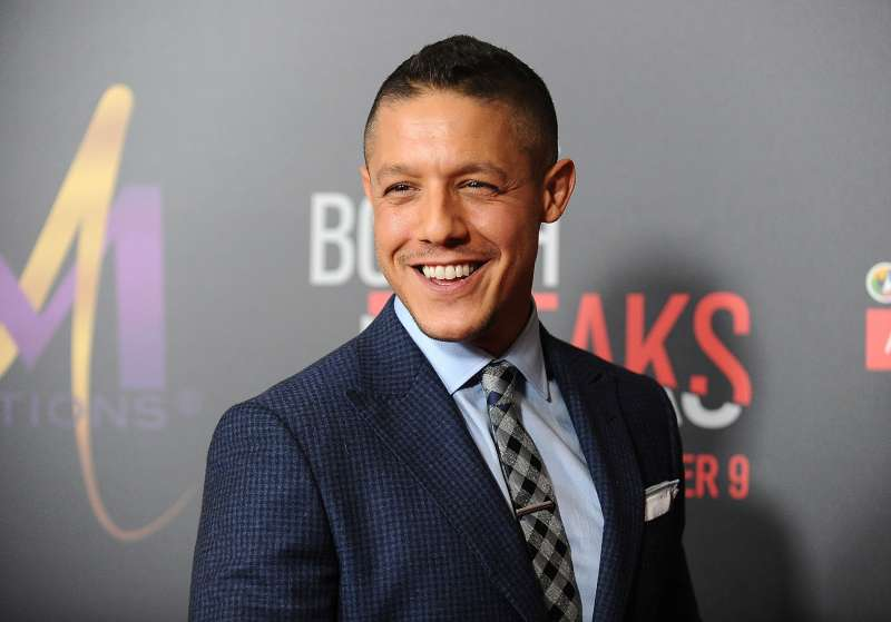 Actor Theo Rossi attends the premiere of  When the Bough Breaks  at Regal LA Live Stadium 14 on August 28, 2016 in Los Angeles, California.