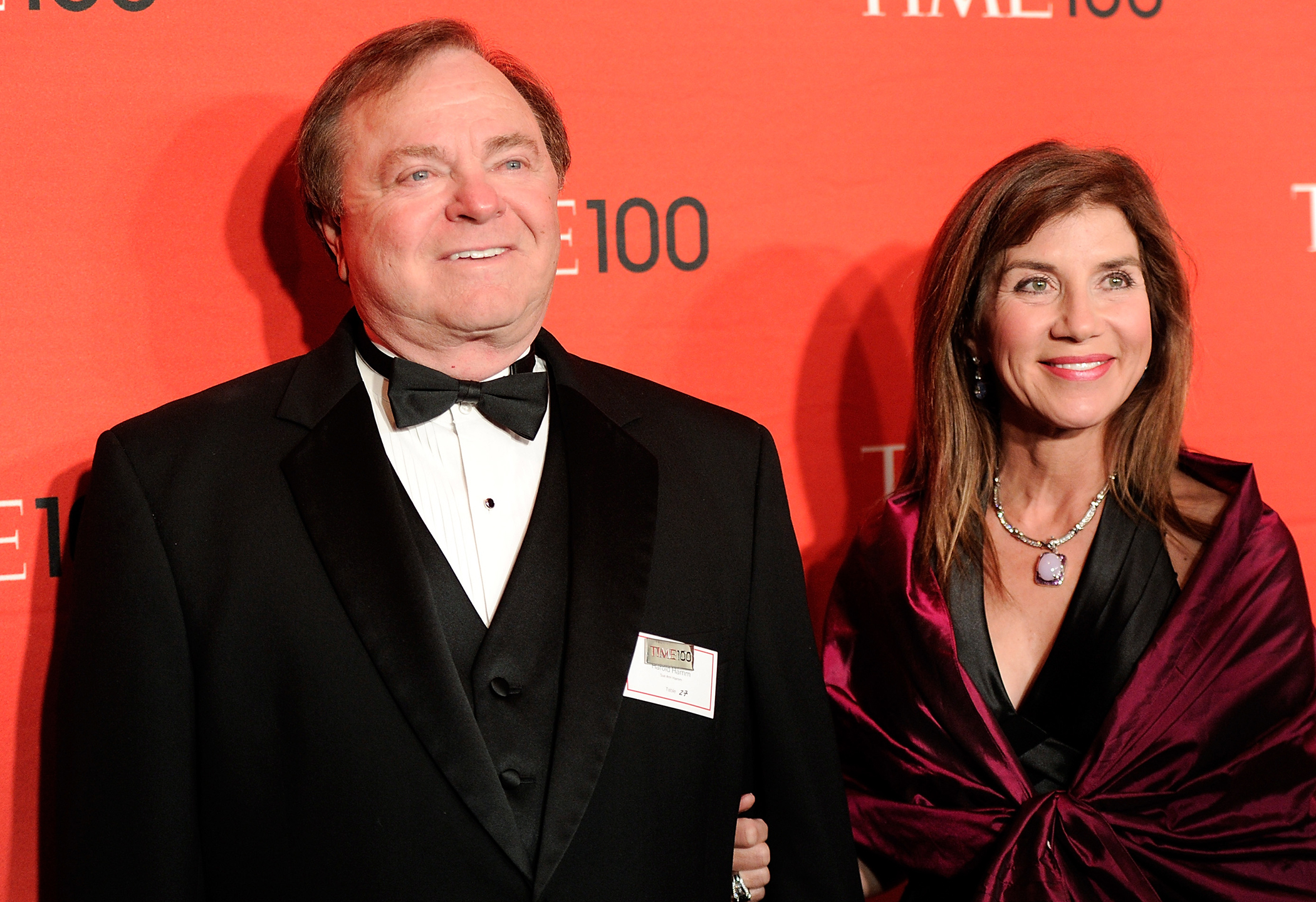 CEO Harold Hamm and his then wife Sue Ann Hamm
