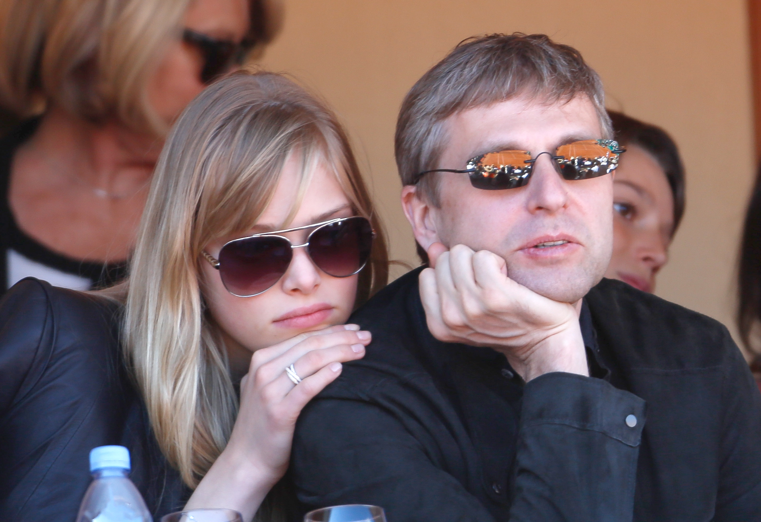 Dmitri Rybolovlev with his wife