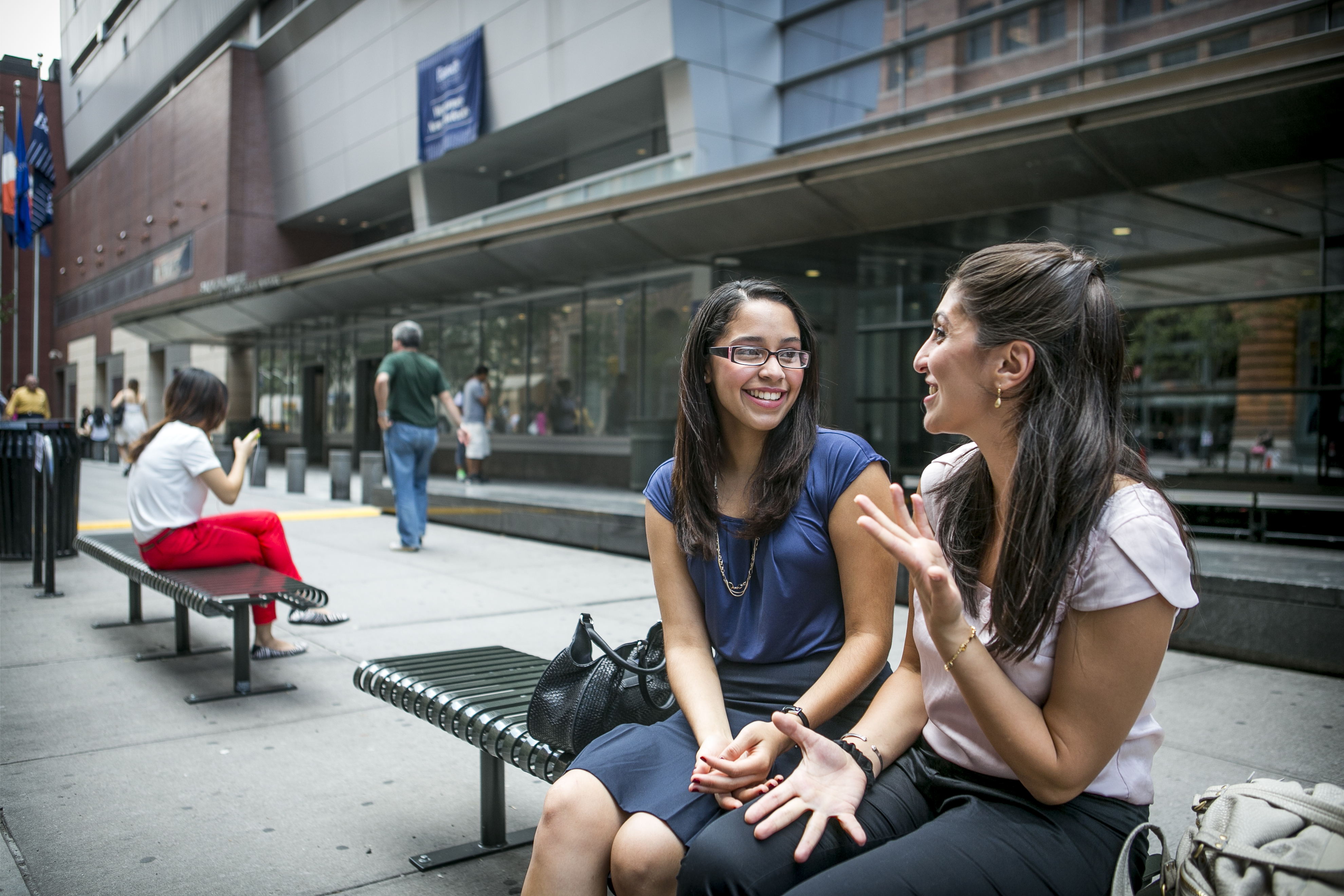 Most students at CUNY Bernard M. Baruch College in New York City graduate with little or no loan debt.