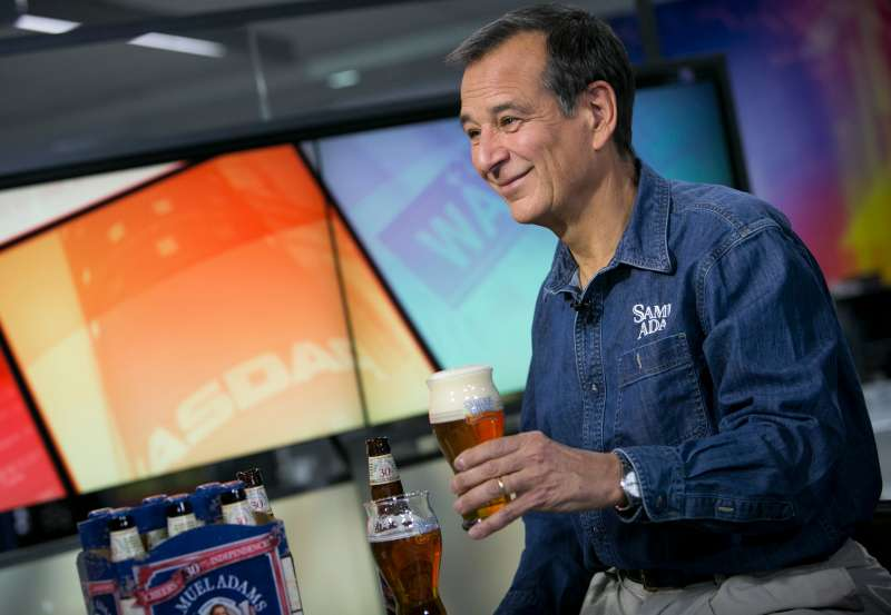 Jim Koch, chairman and founder of Boston Beer Company
