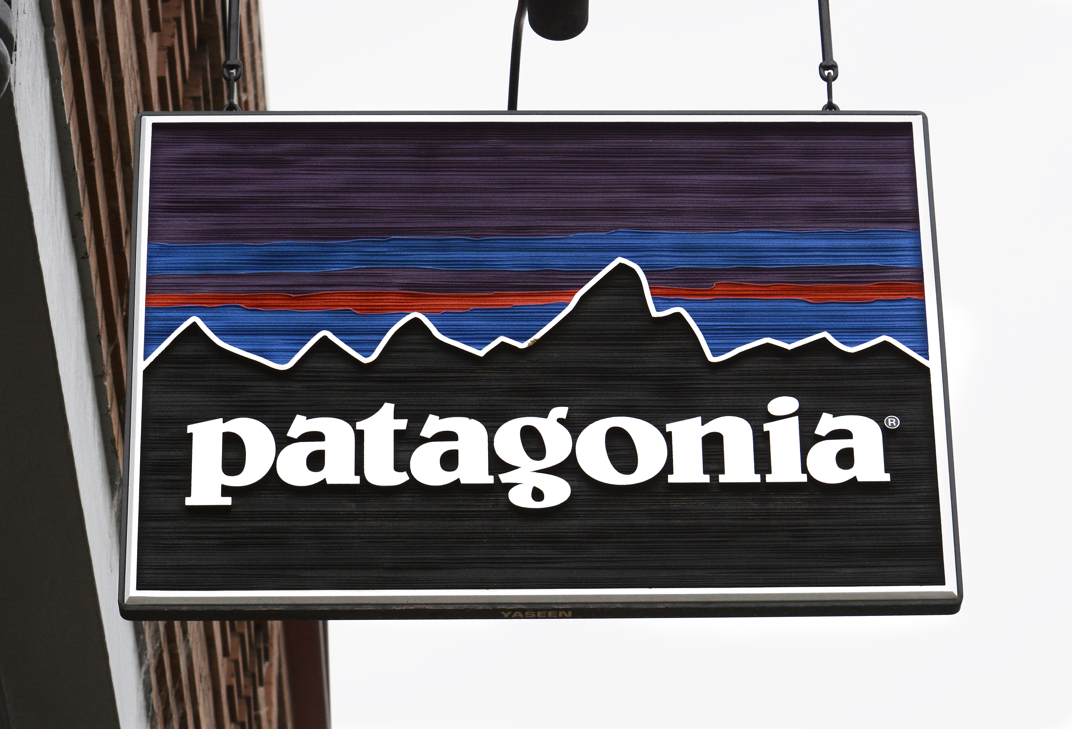 A Patagonia store is among the several shops catering to outdoor enthusiasts in Telluride, Colorado.