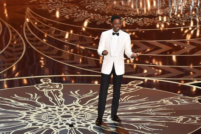 Host Chris Rock at the Academy Awards in February.