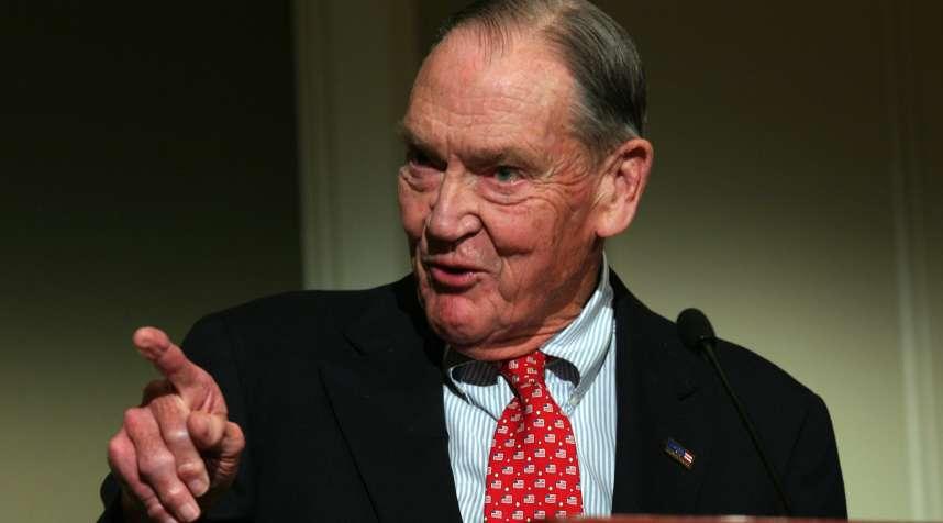 John  Jack  Bogle Sr., founder of Vanguard Group