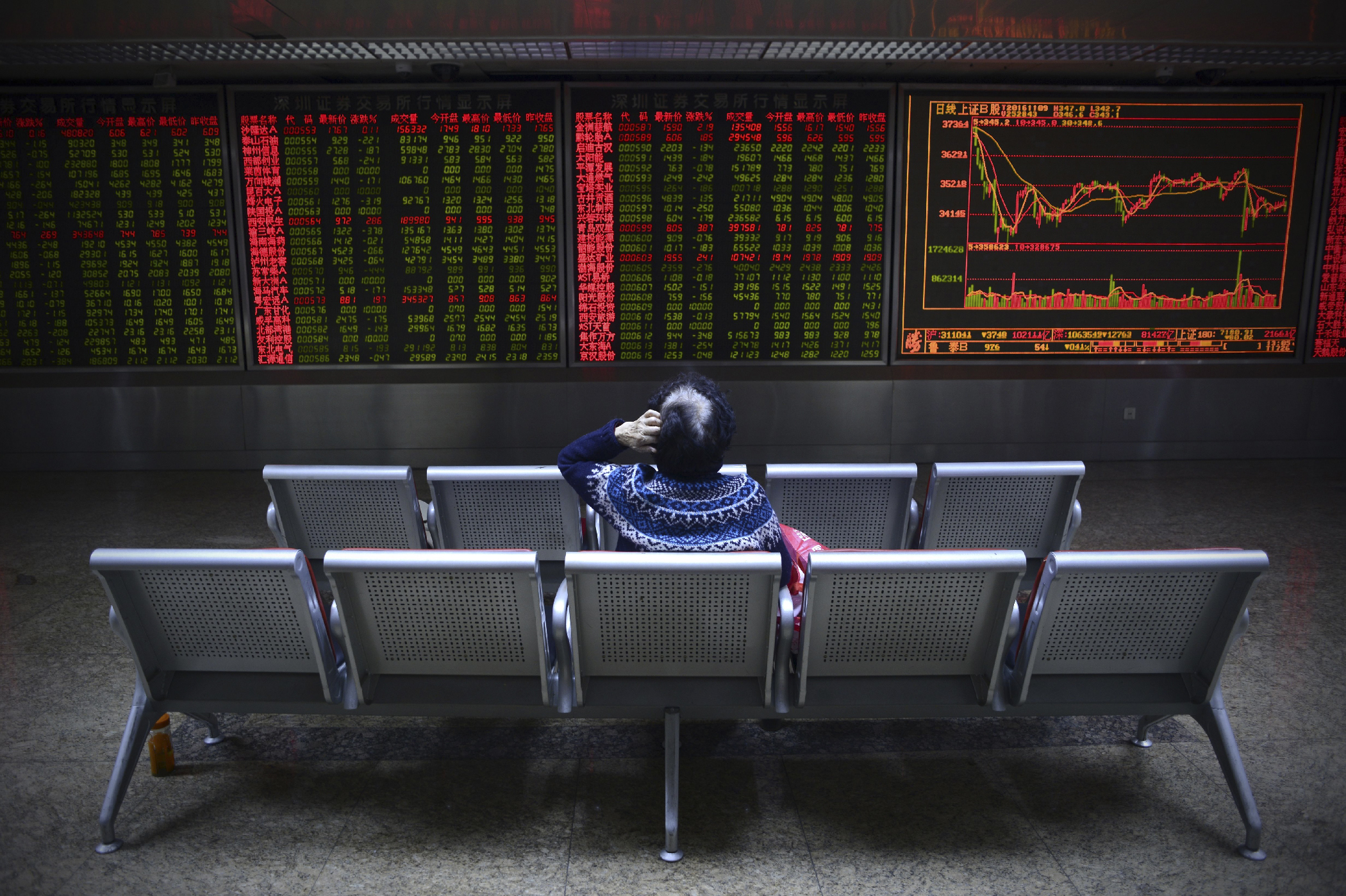 "One of Trump's biggest campaign promises has been to crack down on the Chinese government, who Trump says weakens the value of China's renminbi, giving it an unfair advantage in world trade. The Chinese currency <a href=""http://www.scmp.com/business/markets/article/2044314/yuan-rallies-us-dollar-dragged-down-fears-trump-victory"" target=""_blank"">rallied</a> as the U.S. dollar's value fell following Trump's win."