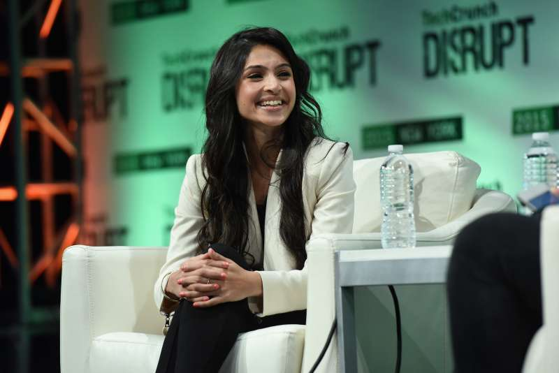 NEW YORK, NY - MAY 06:  Co-Founder and CEO of ClassPass, Payal Kadakia speaks onstage during TechCrunch Disrupt NY 2015 - Day 3 at The Manhattan Center on May 6, 2015 in New York City.