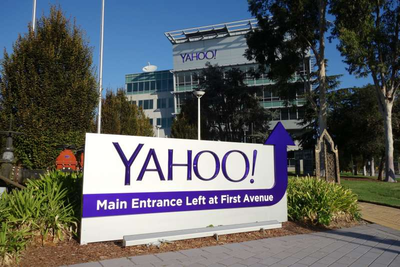 Yahoo! corporate offices and headquarters in Sunnyvale, California