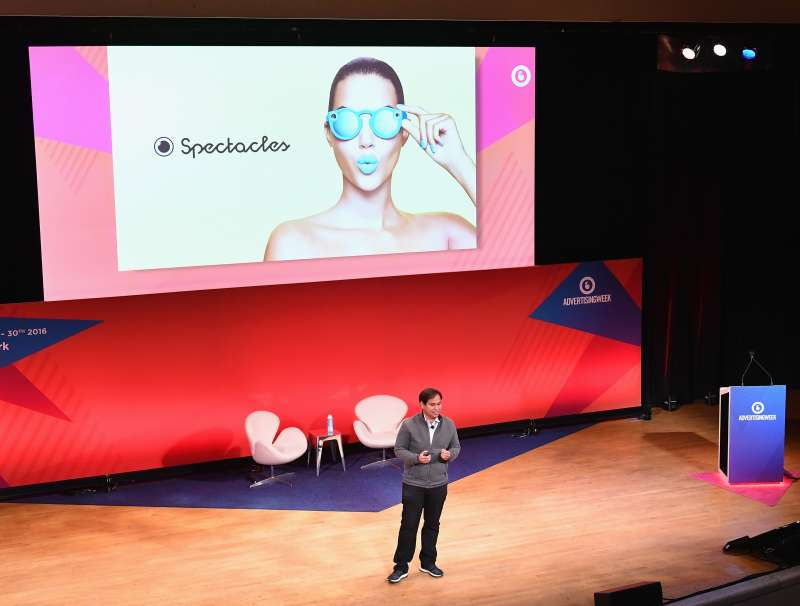 Snapchat's Imran Khan speaks onstage  at The Town Hall during 2016 Advertising Week New York on September 26, 2016 in New York City.