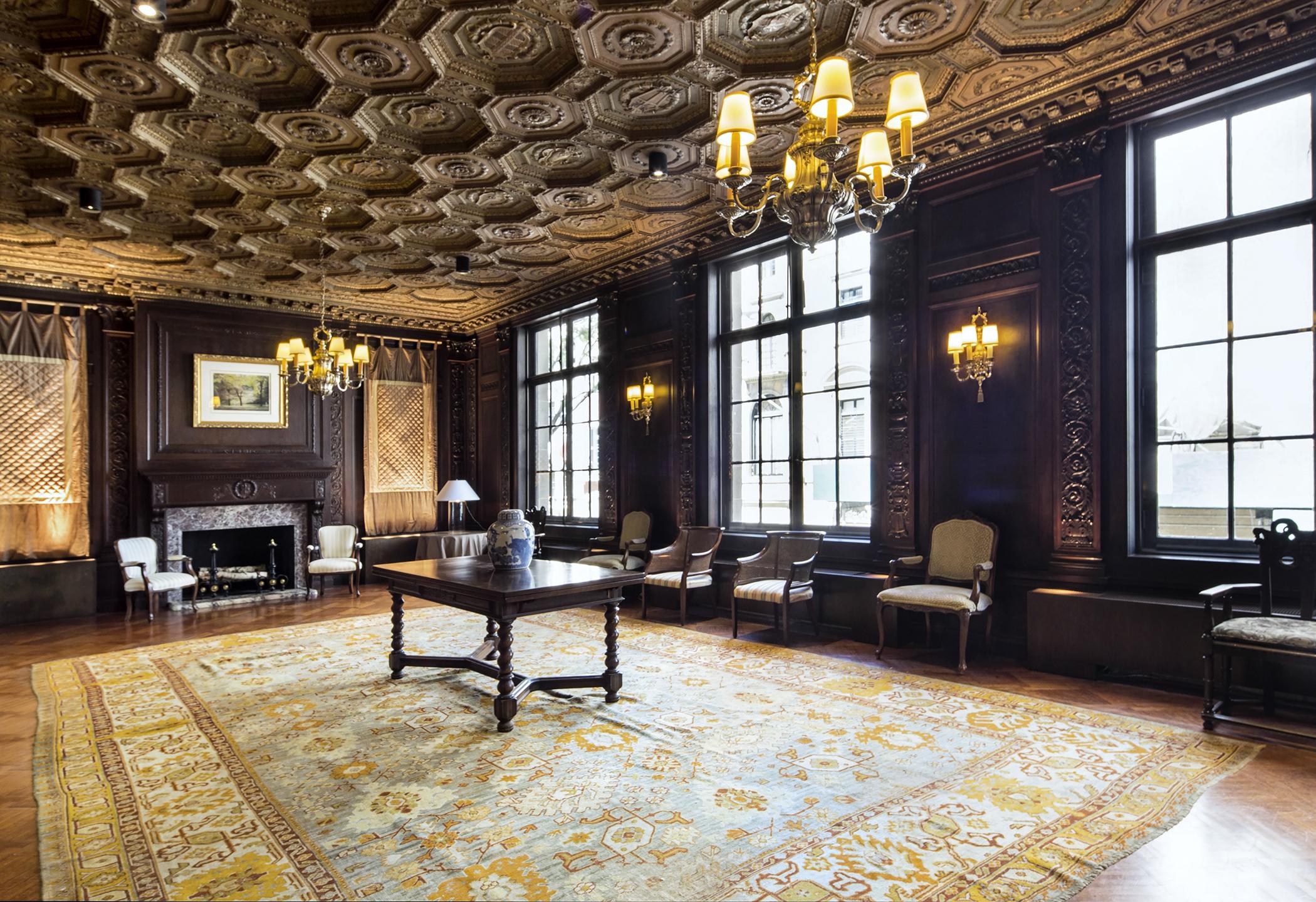 Manhattan Mansion Ceilings