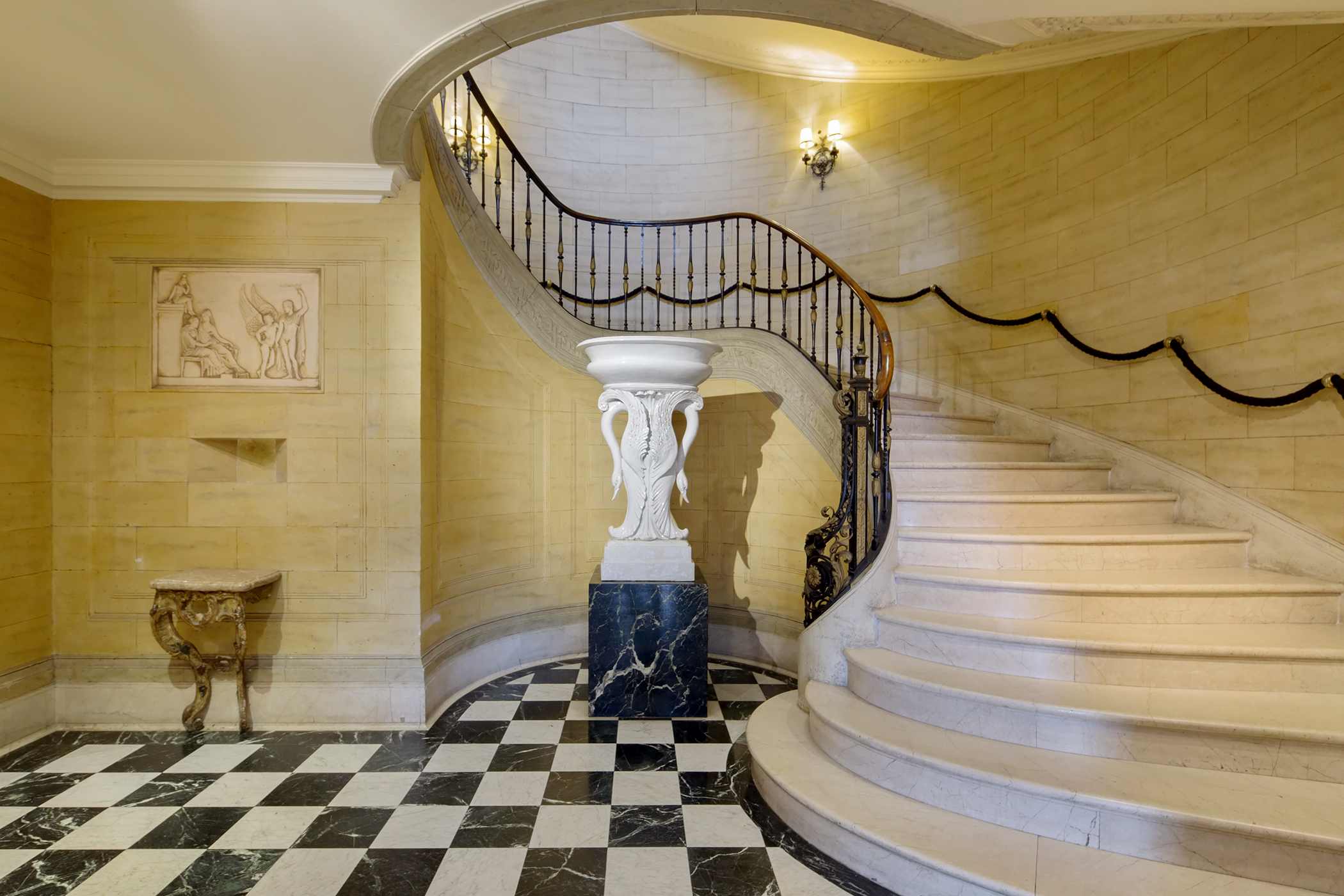 Manhattan Mansion Entry