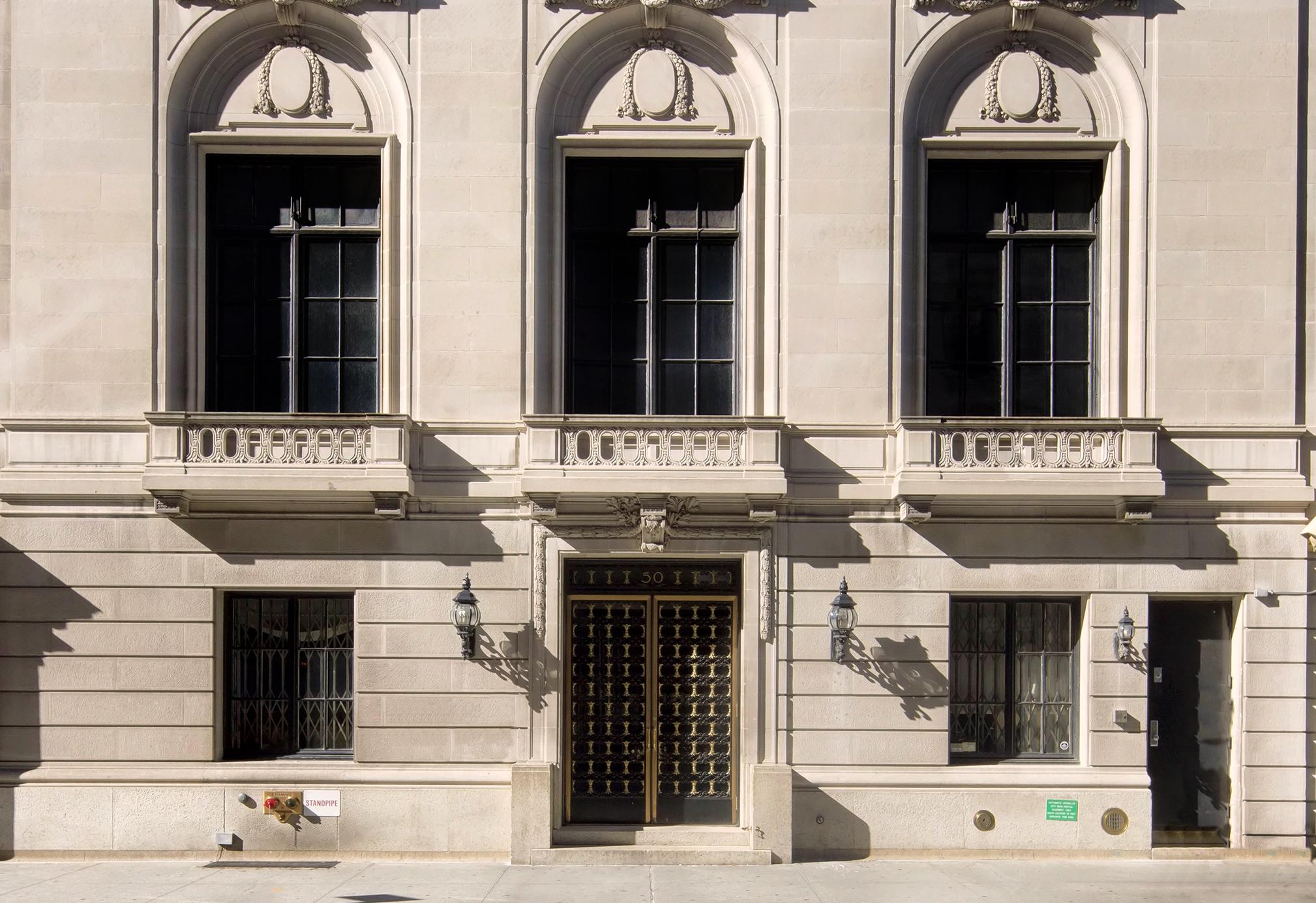 Manhattan Mansion Exterior