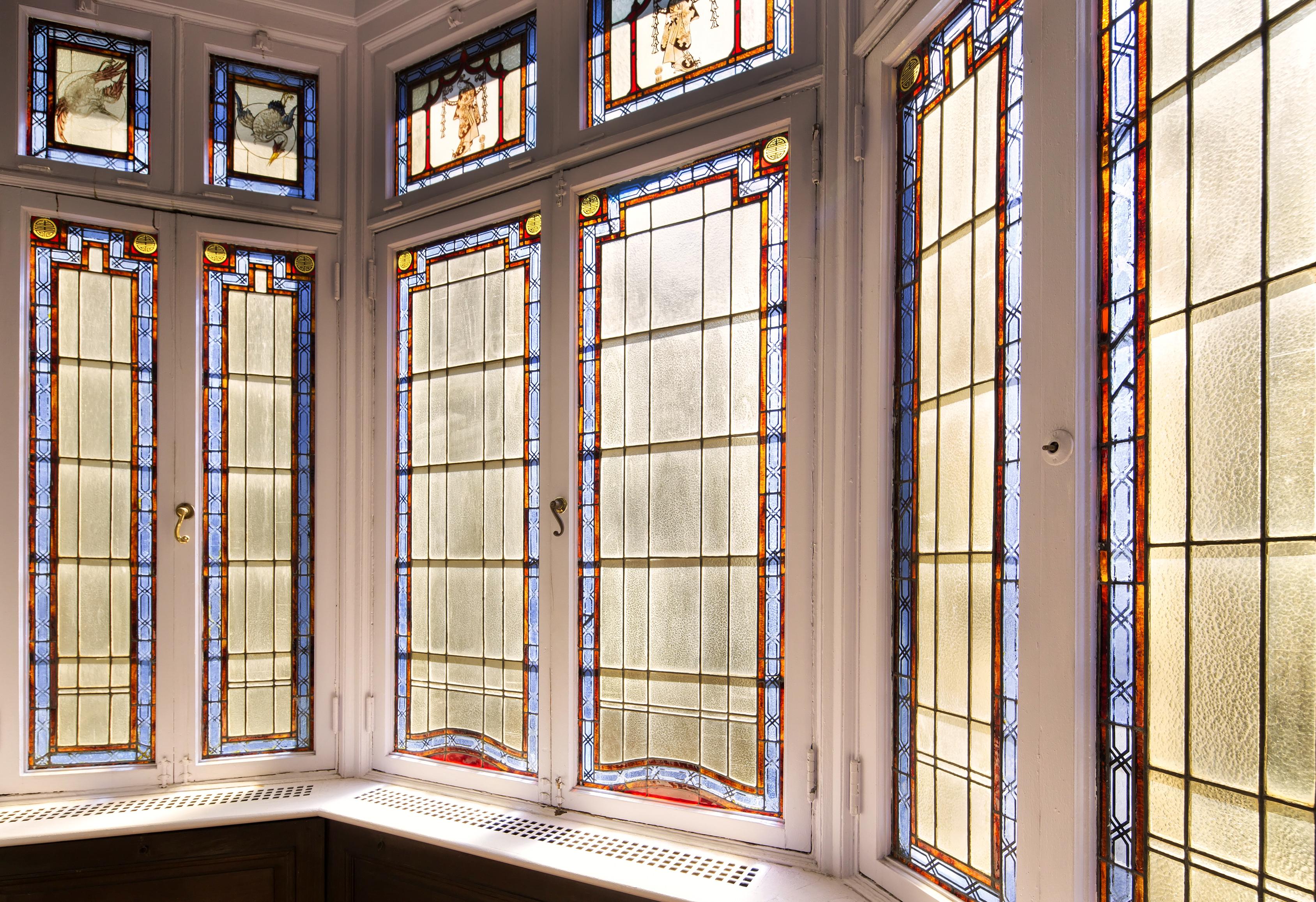 Manhattan Mansion Bay Windows