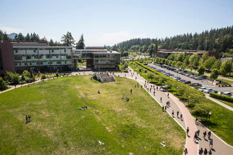 Students at Western Washington University voted more than 10 years ago to pay an annual fee to support using only renewable energy.