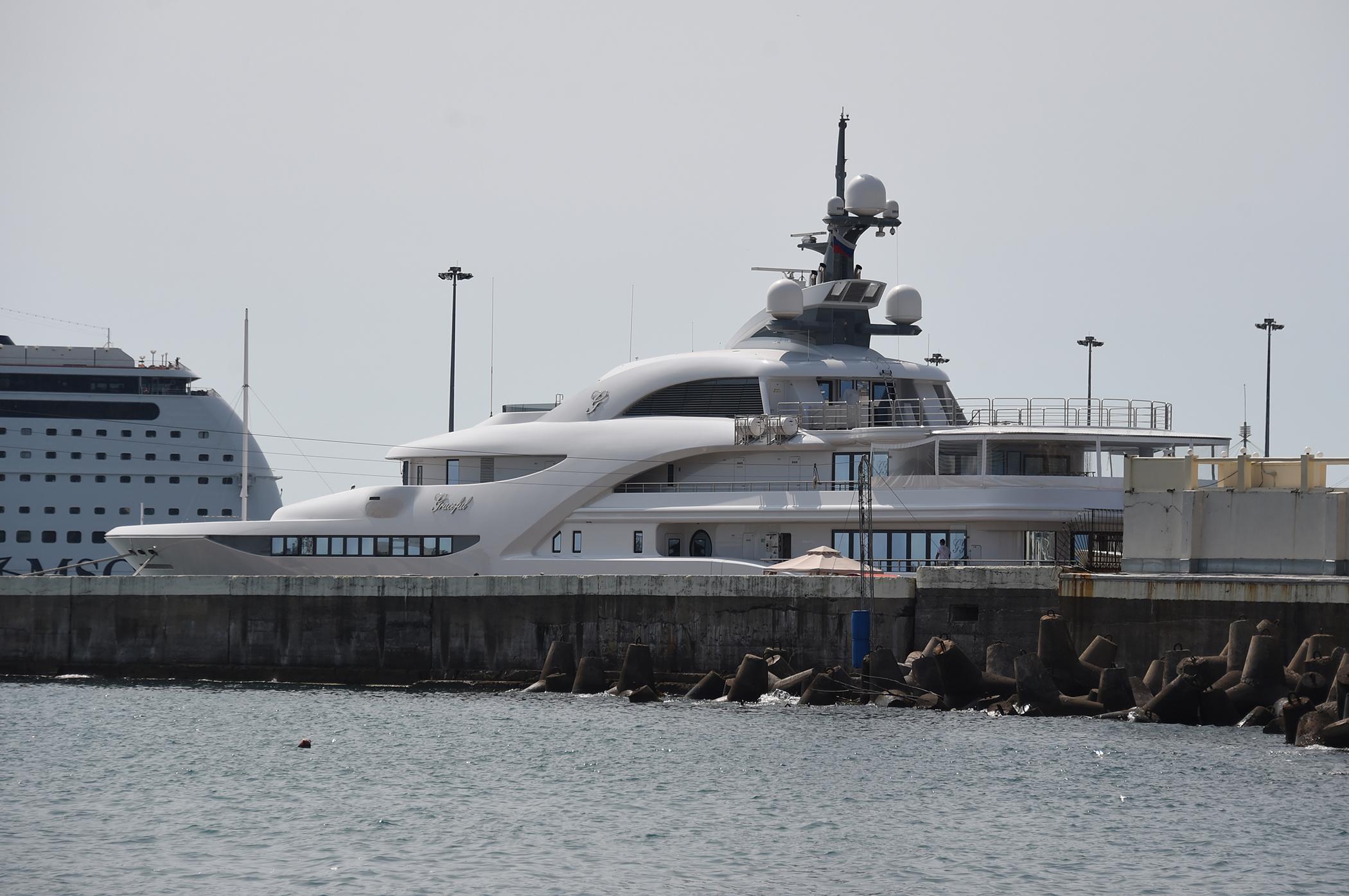 Vladimir Putin's Yacht