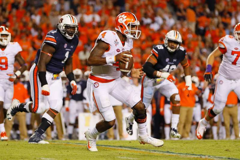 Clemson and Alabama faced one another in last year's championship game.