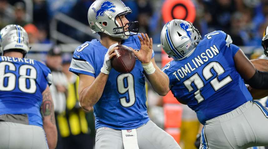 The Lions spent the least amount on player salaries of any team in the NFL playoffs this year.