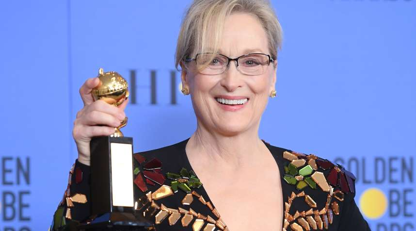 Meryl Streep mentioned the Committee to Protect Journalists at the Golden Globes Sunday evening.